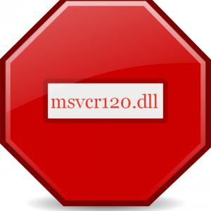 Устранение ошибки отсутствия файла msvcr120.dll