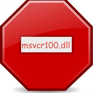 Устранение ошибки отсутствия файла MSVCR100.dll