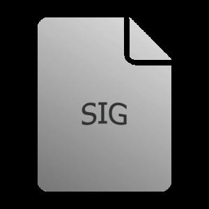 Чем открыть файл формата SIG