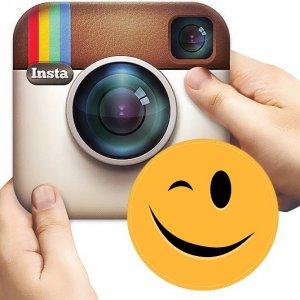 Как вставить смайлики в Instagram на Android