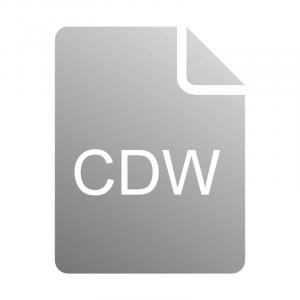 Чем открыть файл CDW