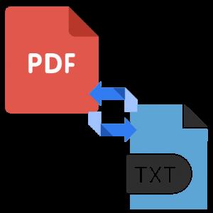 Как преобразовать PDF в TXT
