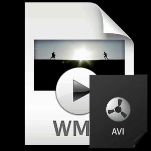 Смена формата WMV на AVI