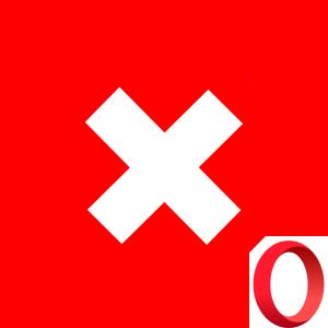 Как исправить аварийное закрытие страницы в браузере Opera
