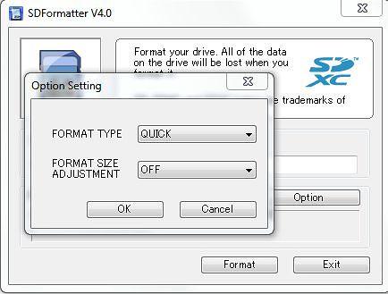 Программа для форматирования SD карт