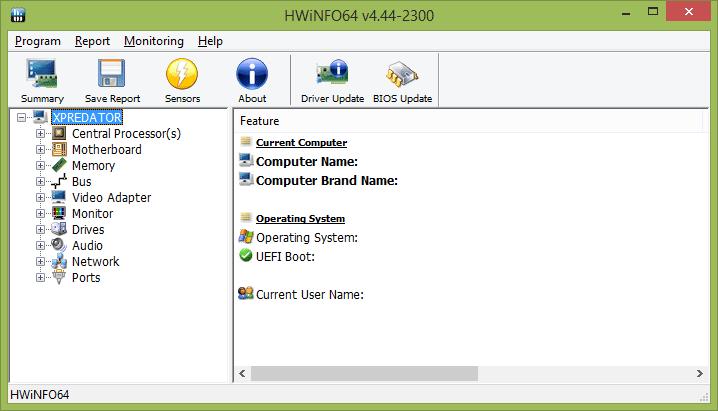 Программа для определения температуры видеокарты и процессора