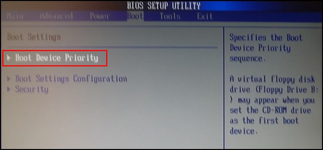 Как отформатировать жёсткий диск через БИОС