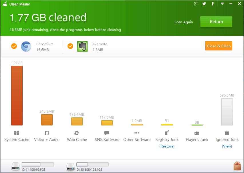 Clean Master для компьютера скачать бесплатно на русском
