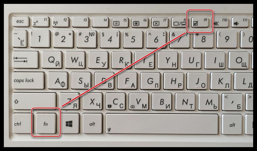 Не работает мышка на ноутбуке