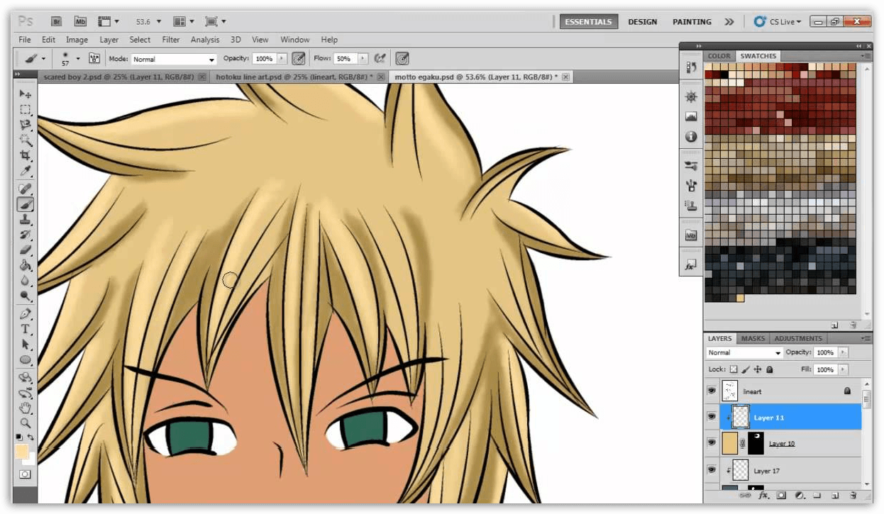 3 программы для рисования аниме