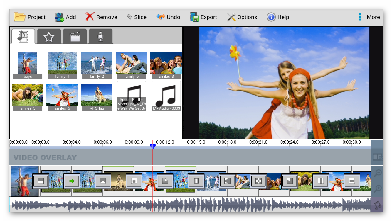 Videopad возможности редактора