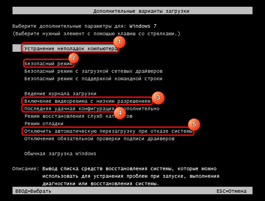 Загрузочное меню операционной системы