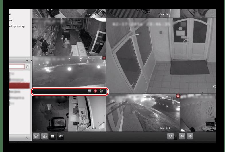 Панель записи видео iVMS 4200