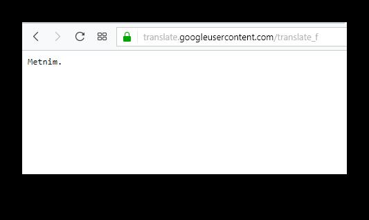 Перевод файла в Google Translate