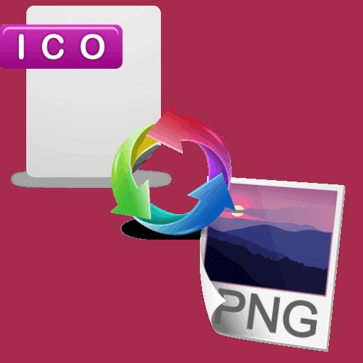 Как конвертировать ico в png