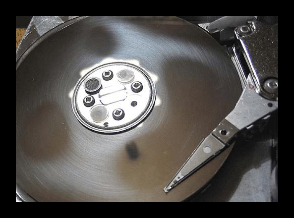 Механическая поломка HDD