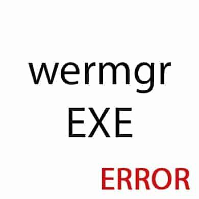 wermgr.exe ошибка приложения