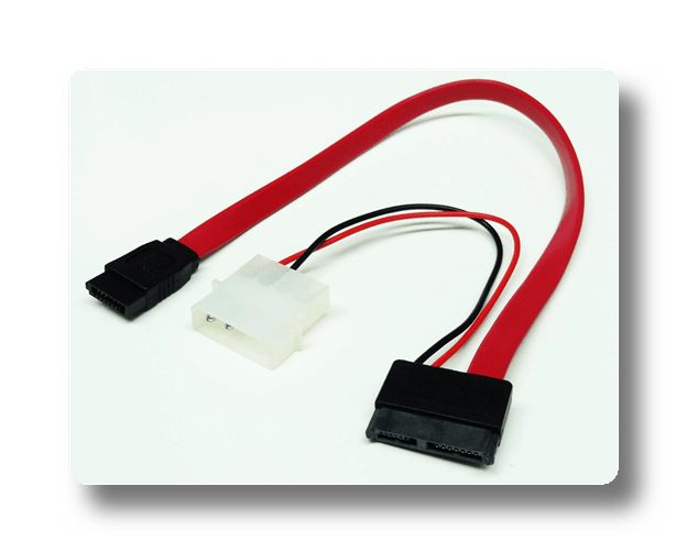Пример адаптера DVD Power-to-Molex