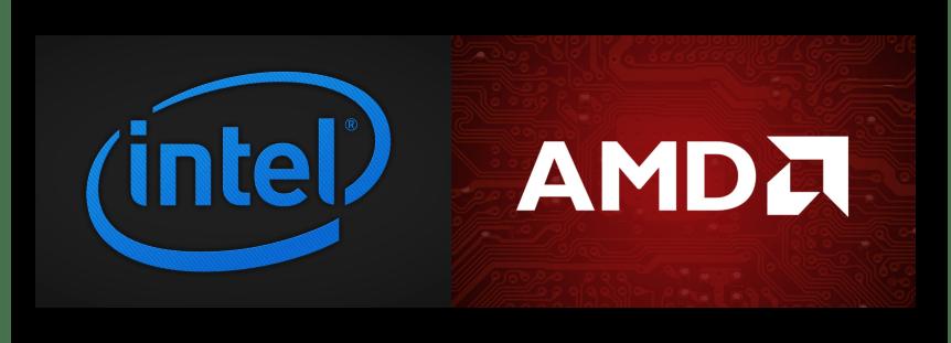 Производители процессоров Intel и AMD